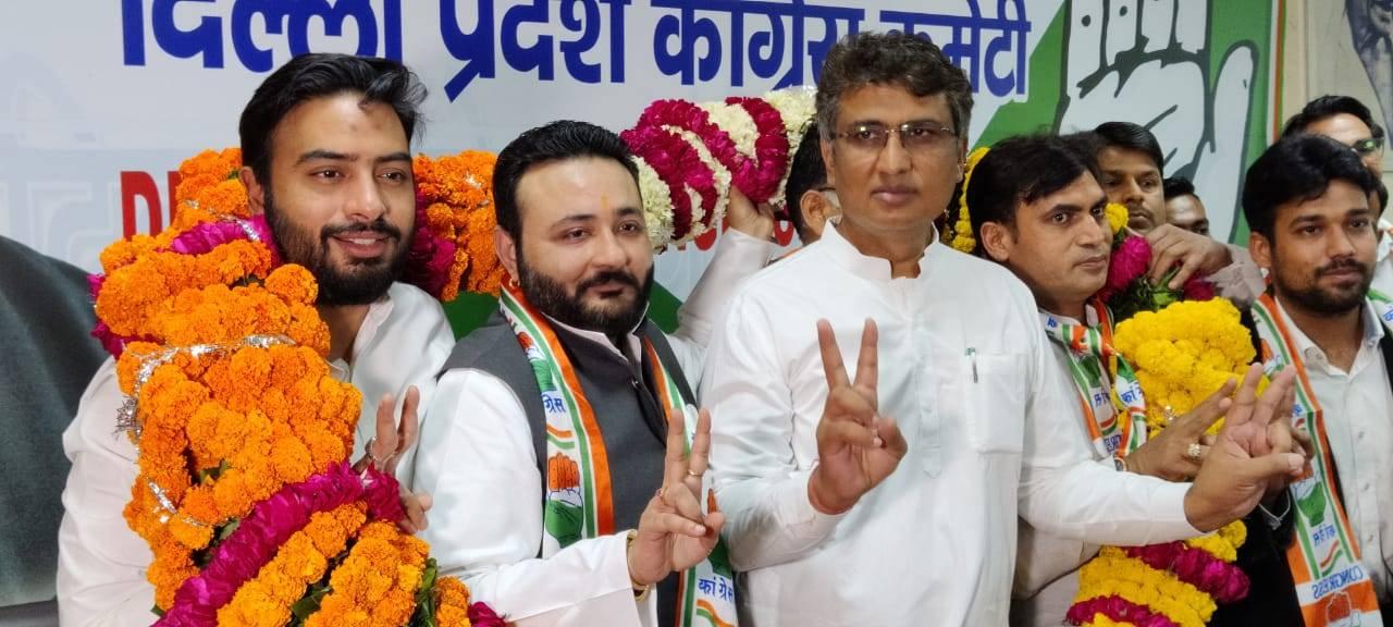 पूर्वांचल के कद्दावर नेता राणा सुजीत सिंह का दिल्ली कांग्रेस में घर वापसी